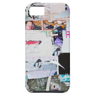 Graffiti Wall Banksy Style Torn Paper iPhone 5 Cases
