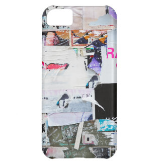 Graffiti Wall Banksy Style Torn Paper iPhone 5C Cover