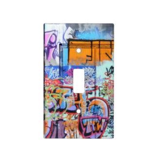Graffiti Wall Light Switch Plate