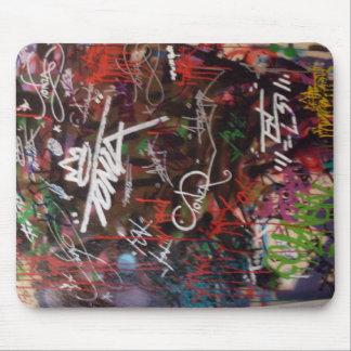 Graffiti Wall Mouse Pad