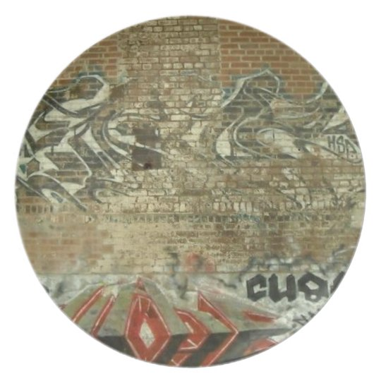Graffiti Wall Plate