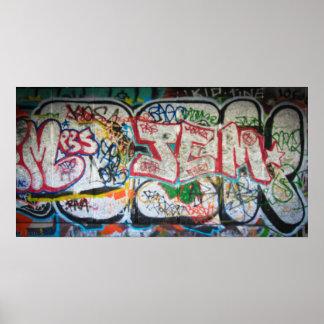Graffiti Wall Posters