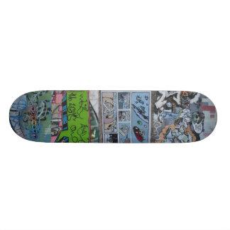 Graffiti Wall - (St. Louis, Mo) Skateboard