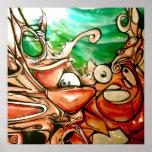 Graffiti - What Lies Beneath Print