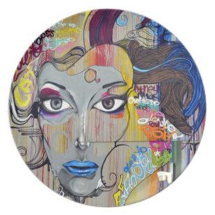 Graffiti Plates Zazzle