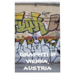 Graffitis In Vienna Austria 2018 Calendar