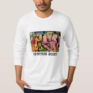 Graffitis story design T-Shirt