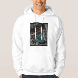 Graffito Art Design inc hatters Hooded Pullovers