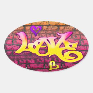 Graffitti Love Sticker