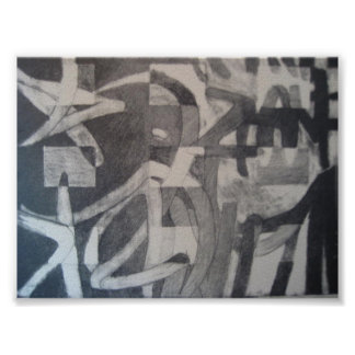 graffitti print
