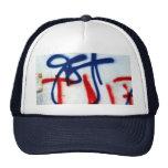 graffitti truckers hat