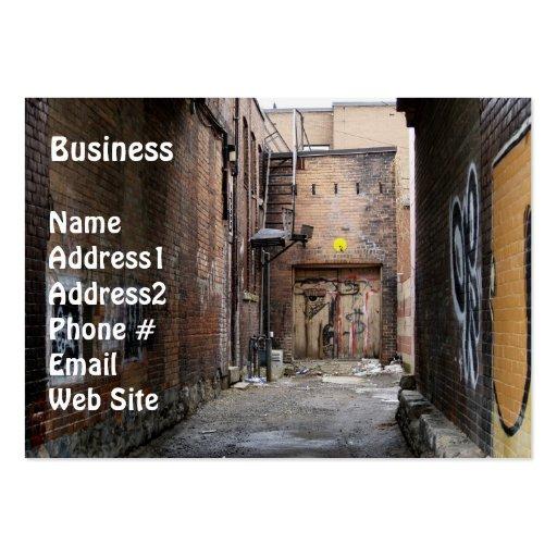 Graffitti Wall Grunge Business Card
