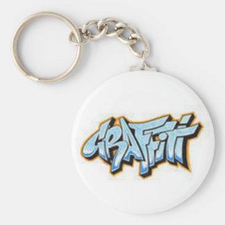 graffti key chain