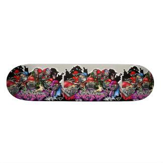 graffti skateboard decks