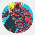 Gráfico 1 de Batman Etiquetas Redondas