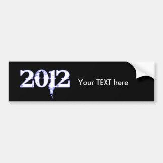 Gráfico 2012 pegatina para auto
