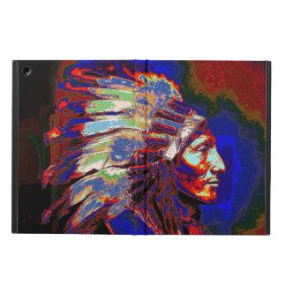 Gráfico americano del jefe indio