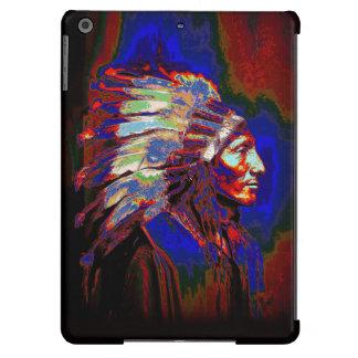 Gráfico americano del jefe indio funda para iPad air