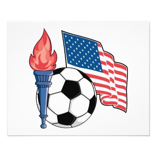 gráfico americano del orgullo del fútbol de los E. Tarjetones