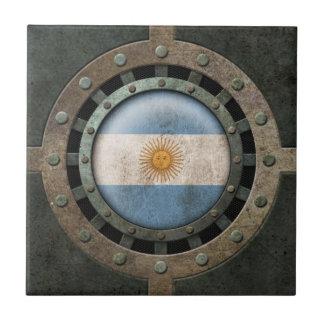 Gráfico argentino de acero industrial del disco de teja cerámica