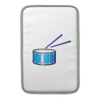 gráfico azul de la trampa con los palillos fundas para macbook air