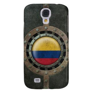 Gráfico colombiano de acero industrial del disco d