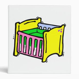 gráfico colorido del pesebre del bebé