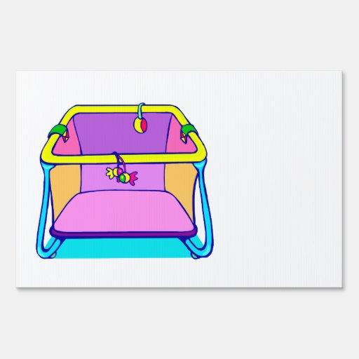 Gráfico colorido del Playpen