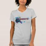 Gráfico cómico retro de Hawkeye Camisas