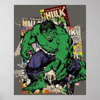 Gráfico cómico retro del armatoste póster