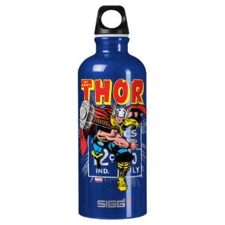 Gráfico cómico retro del precio del Thor