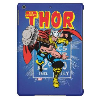Gráfico cómico retro del precio del Thor Funda iPad Air