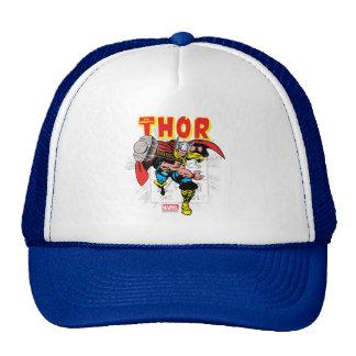 Gráfico cómico retro del precio del Thor Gorra