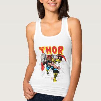 Gráfico cómico retro del precio del Thor Playera Con Tirantes