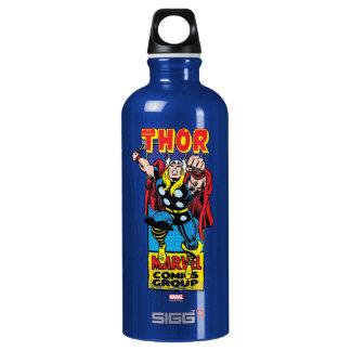 Gráfico cómico retro del Thor