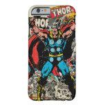 Gráfico cómico retro del Thor Funda De iPhone 6 Barely There