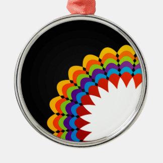 Gráfico con la flora colorida ornamentos de reyes