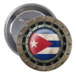 Gráfico cubano de acero industrial del disco de la pins