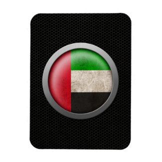 Gráfico de acero del disco de la bandera de United Imán