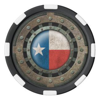 Gráfico de acero industrial del disco de la juego de fichas de póquer