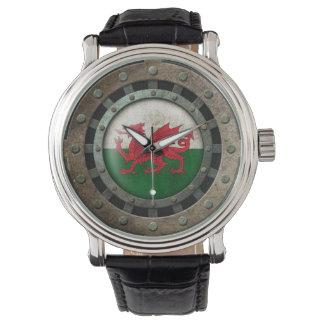 Gráfico de acero industrial del disco de la relojes de pulsera
