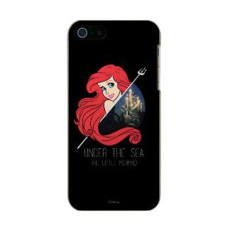 Gráfico de Ariel la Atlántida - debajo del mar Carcasa De Iphone 5 Incipio Feather Shine