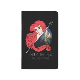 Gráfico de Ariel la Atlántida - debajo del mar Cuadernos Grapados