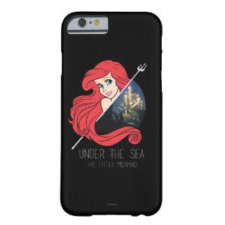 Gráfico de Ariel la Atlántida - debajo del mar Funda Para iPhone 6 Barely There