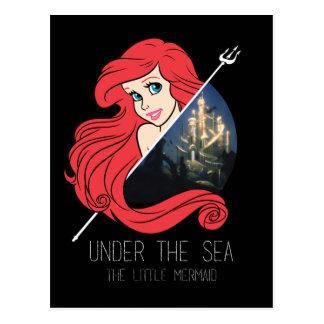 Gráfico de Ariel la Atlántida - debajo del mar Postales