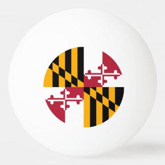 Gráfico de colores de la bandera del estado de pelota de tenis de mesa