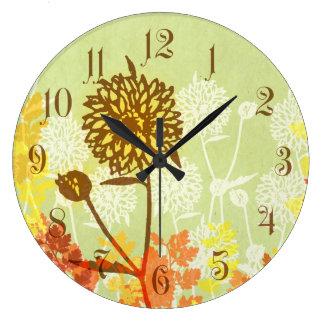 Gráfico de Crysanthemum Relojes