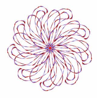 Gráfico de encaje purpúreo claro espiral del diseñ esculturas fotograficas