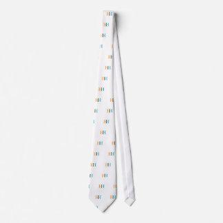 Gráfico de H y de H Corbata Personalizada