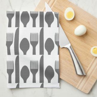 Gráfico de la bifurcación del cuchillo de la toallas de cocina